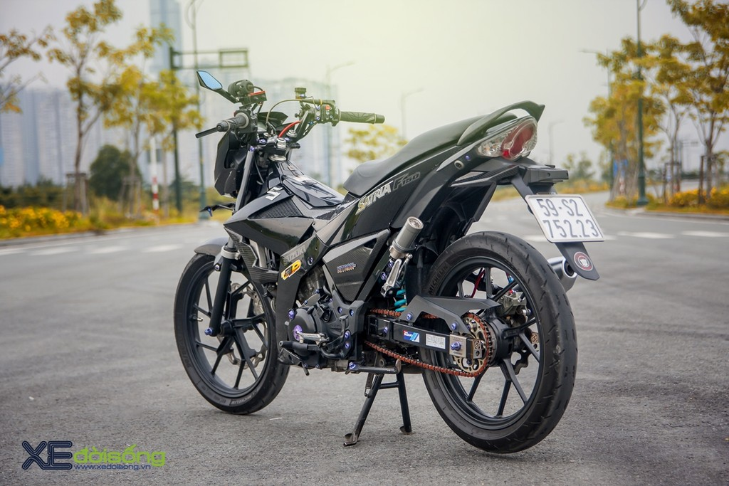 Suzuki Satria F150 độ chất từ workshop D.P Motorcycle Accessories Part ảnh 5