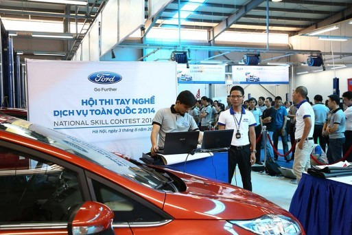ford-vietnam-thi-tay-nghe-dich-vu-toan-quoc-2014