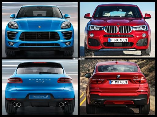 BMW X4 so kè Porsche Macan ảnh 3