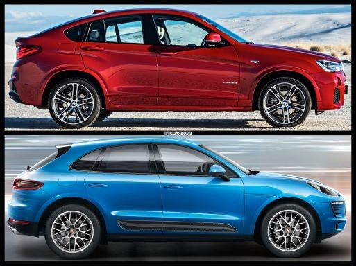 BMW X4 so kè Porsche Macan ảnh 4