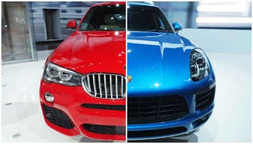 BMW X4 so kè Porsche Macan ảnh 5
