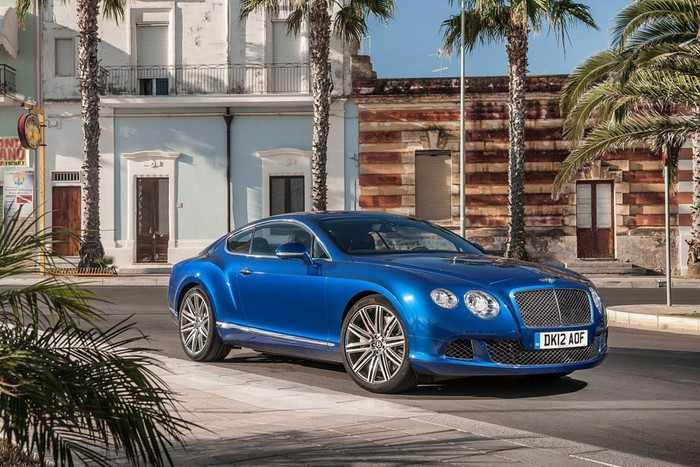 Bentley Continental GT Speed 2013 ảnh 2