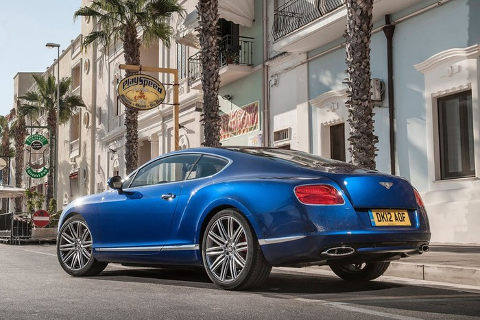 Bentley Continental GT Speed 2013 ảnh 3