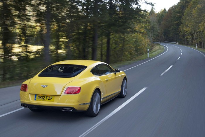 Bentley Continental GT Speed 2013 ảnh 8